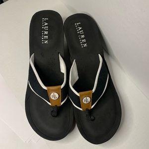 Lauren Ralph Lauren Jane thong sandal size 10